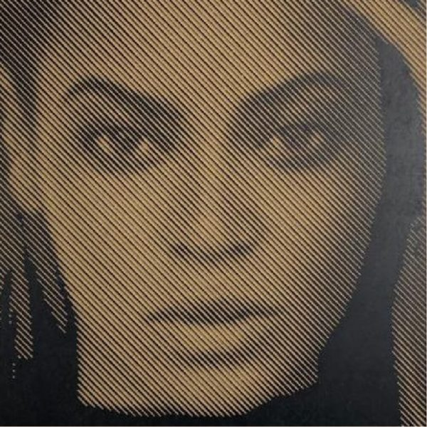 Prachtige foto van Beyonce in hout gefreesd